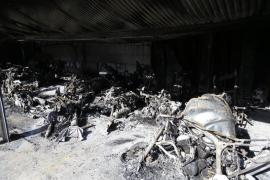 CC OO pide la dimisión de Pastor por el incendio del cuartel de la policía de Son Gotleu