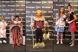 Ganadores del concurso de disfraces de Halloween 2018