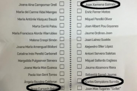 El sistema de primarias de Més permite a los minoritarios de Santiago poder colocar nombres en los puestos clave de la lista electoral