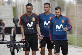 Jordi Alba vuelve a la selección en una lista con sorpresas
