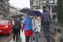 Lluvias para este viernes en Baleares