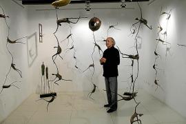 Las figuras «solidarias» centran la nueva exposición de Pep Roig