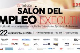 Nuevas oportunidades de futuro en el 32º Salón del Empleo Executive en ESERP Business School
