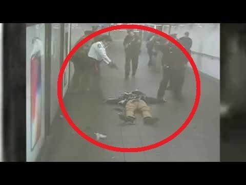 Una cámara capta como un terrorista se inmola en pleno metro de Nueva York