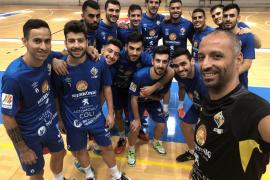 El Palma Futsal defiende el liderato en el Palau Blaugrana