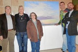 Inauguración de la exposición de Miguel Ángel Guerreiro