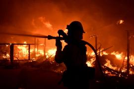 Incendio en Malibú