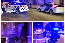 Un coche choca de madrugada contra el edificio de la Autoridad Portuaria