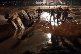 Miles de turistas evacuados de la ciudad monumental de Petra por inundaciones