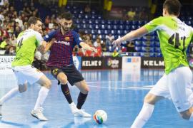 El Palma Futsal cede el liderato en Barcelona