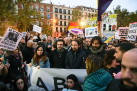Cientos de personas protestan en Madrid frente el Supremo contra el fallo sobre hipotecas