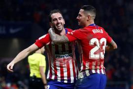 Godín culmina la remontada del Atlético de Madrid