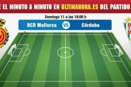 Real Mallorca-Córdoba, en directo