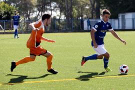 El partido entre el San Rafael y el Platges de Calvià, en imágenes (Fotos: Daniel Espinosa).