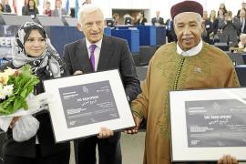 La Eurocámara entrega el Premio Sájarov a cinco activistas de la Primavera Árabe