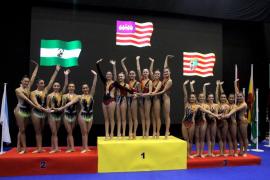 El Consell hace historia para la gimnasia rítmica balear