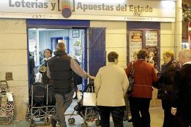 La crisis también hace mella en la venta de lotería de Navidad
