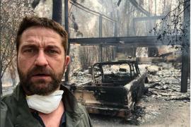 Gerard Butler pierde su casa en el incendio de California