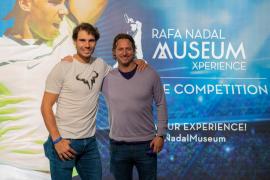 Nalbandian visita la Rafa Nadal Academy