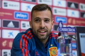 Jordi Alba: «No me arrepiento de nada»