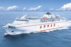 Un nuevo ferry de Trasmediterránea une Gandia con Ibiza y Palma durante todo el año