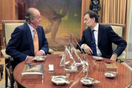 Rajoy le dice al rey que dedicará todo su esfuerzo a luchar contra la crisis
