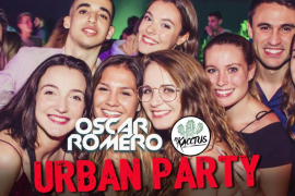 Oscar Romero y DJ Kacctus ponen música en la Urban Party, la fiesta de los jueves en Es Gremi