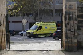 Herido un jardinero en Palma al quedar atrapado su pie con un motocultor