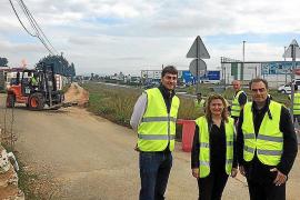 El Consell 'bendice' el inicio de la obras de la autopista Llucmajor a Campos
