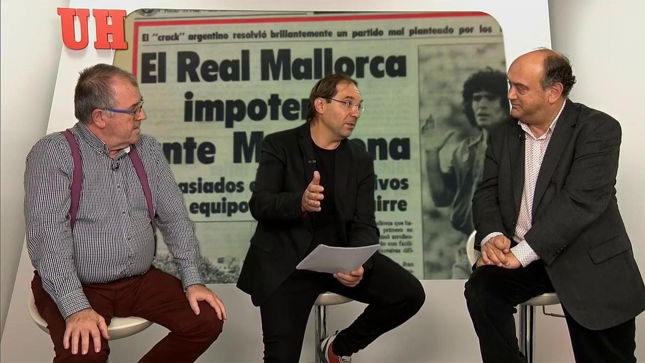 El día en que Maradona llenó el Lluís Sitjar
