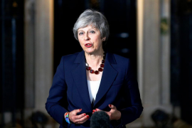 May anuncia que el Gabinete ha respaldado el plan acordado para el Brexit