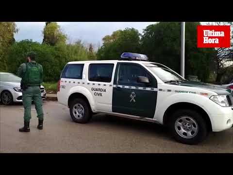 La Guardia Civil registra una chabola de Son Rossinyol en la que pudo ser asesinado el hombre hallado en Cala Pi