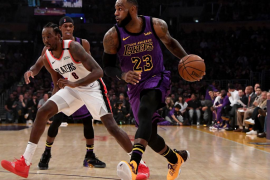LeBron James supera en puntos a Wilt Chamberlain y entra en el 'Top 5' de la NBA