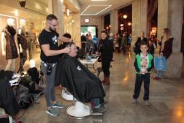 Cortes de pelo y afeitados solidarios este sábado en Palma