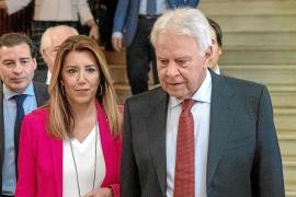 González arropa a Díaz en el inicio de la campaña andaluza