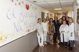 Son Llàtzer estrena 'El jardí de na Marga', una nueva decoración en Urgencias de Pediatría
