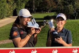 Luna Sobrón se proclama campeona de España de golf