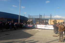 El cien por cien de los funcionarios de prisiones de Palma secunda la nueva jornada de huelga