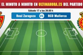 Real Zaragoza-Mallorca, en directo