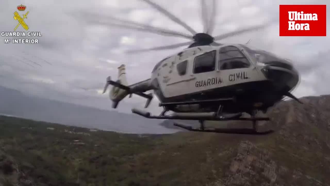 Rescate de dos excursionistas en la ascensión a la ermita de Betlem
