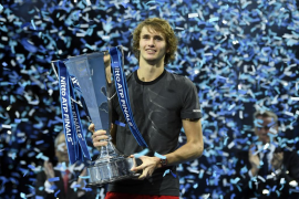 Zverev se corona Maestro ante Djokovic