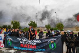 Nueva jornada de huelga de los funcionarios de la cárcel de Palma