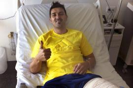 Villa: «Me encuentro mucho mejor, sé que estoy en buenas manos»