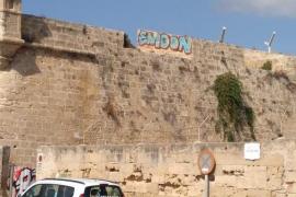 Grafiti en la Murada de Palma