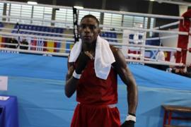 Youba Sissokho, plata en el Campeonato de la Unión Europea de boxeo