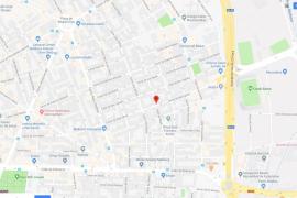 Detenido por dar un puñetazo en la cara a su mujer en la calle Sant Ignasi de Palma