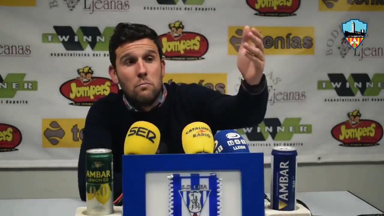 Bronca al entrenador del Lleida por el uso del catalán