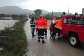Reabiertas todas las carreteras cerradas por inundaciones en Mallorca