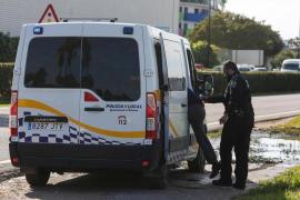Detenido un octogenario en Ibiza por conducir borracho y provocar un accidente