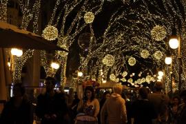 Palma se llena de magia con el encendido de luces de Navidad